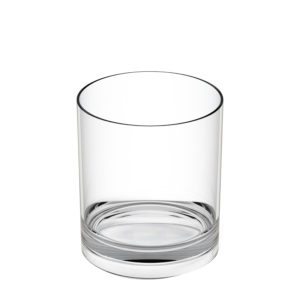 Vaso whisky irrompible