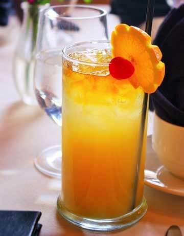 Receta COCTEL TEQUILA SUNRISE cocteles tequila faciles